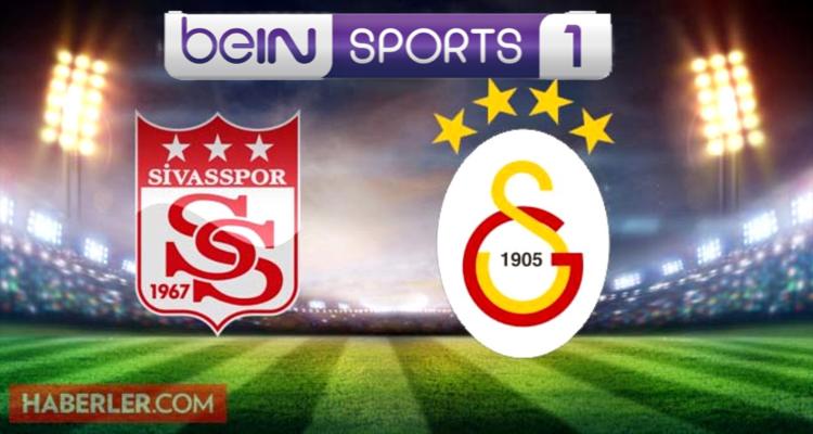 Sivasspor- Galatasaray maçının ilk 11'leri belli oldu! CANLI YAYIN
