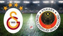 Galatasaray – Gençlerbirliği canlı izle