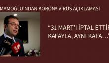"""""""31 MART'I İPTAL ETTİREN KAFAYLA, AYNI KAFA…"""""""