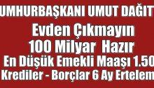 Erdoğan, Corona Virüsü Ekonomik Kararları Açıkladı