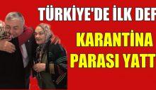 KARANTİNA YARDIM PARASI YATIRDI