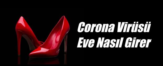 Ayakkabılar koronavirüsü eve getirir mi?
