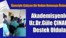 Akademisyenler Uz.Dr.Güle ÇINAR'a Destek Açıklaması Yaptı