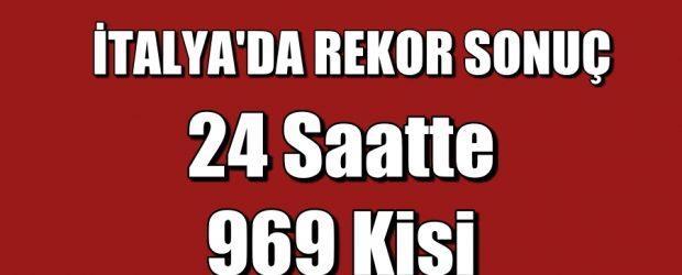 24 saatte 969 kişi koronavirüsten hayatını kaybetti!
