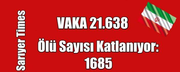 Vaka 21.638 Ölü Sayısı 1685