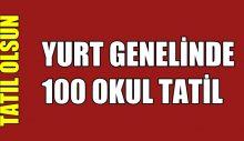 "100 OKUL TATİL ""TATİL ERKENE ALINSIN"""