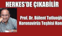 Prof. Dr. Bülent Tutluoğlu'na koronavirüs teşhisi konuldu
