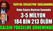 Türkiye'de koronavirüs 3 farklı senaryoda ne olacak