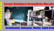 Sarıyer Belediyesi KoronaVirüs Mücadelesi
