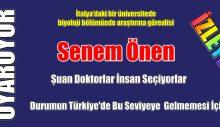 Senem Önen, Türkiye'de Neler yapmamamız gerektiğini söyledi