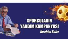 SPORCULARIN YARDIM KAMPANYASI