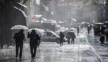 Marmara'ya İstanbul'a sağanak uyarısı