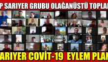 CHP Sarıyer Grubu Olağanüstü Toplandı