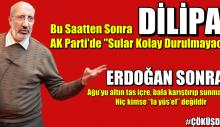 Dilipak: Bu saatten sonra AK Parti'de sular kolay durulmayacak