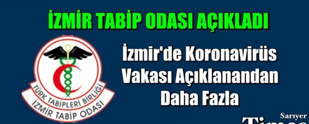 İzmir'de koronavirüs vakası açıklanandan daha fazla