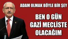 Kemal Kılıçdaroğlu: 23 Nisan'da Meclis'teyim