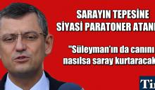 SARAYIN TEPESİNE SİYASİ PARATONER ATANMIŞ