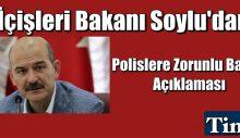 Süleyman Soylu'dan 'polislere zorunlu bağış' açıklaması