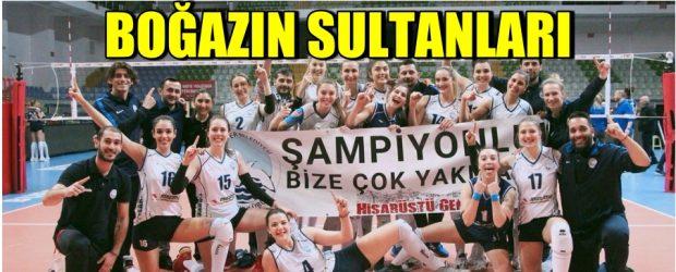 Sarıyer Belediye Spor Vestel Venus Sultanlar Ligine Çıktı