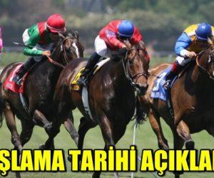 At Yarışlarının Başlayacağı Tarih Belli Oldu