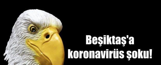 Beşiktaş'a koronavirüs şoku!