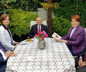 Kılıçdaroğlu'ndan Akşener'in evine bayram ziyareti