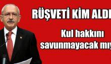 Erdoğan'a '500 bin' sorusu: Rüşveti kim aldı? Kul hakkını savunmayacak mıyız?