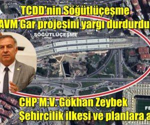 TCDD'nin Söğütlüçeşme AVM Gar projesini yargı durdurdu: Şehircilik ilkesi ve planlara aykırı