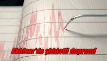 Akhisar'da şiddetli deprem!