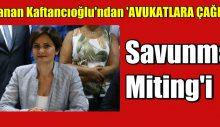 Canan Kaftancıoğlu'ndan 'Savunma Miting'i daveti