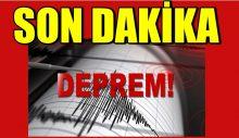 Malatya Pötürge'de şiddetli deprem