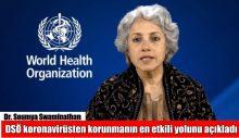 DSÖ koronavirüsten korunmanın en etkili yolunu açıkladı