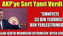 AKP'ye sert yanıt: 'Allah IŞİD'în mermisni bitimesin' diyen sizdiniz