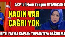 AKP'li Özlem Zengin UTANACAK MI?