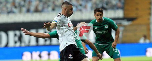 Beşiktaş – Konyaspor maç sonucu: 3-0