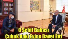 Kemal Kılıçdaroğlu, cenazesinde linç girişimine uğradığı şehidin babasını ağırladı