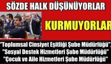 AKP ve MHP'li Üyeler, Toplumsal Cinsiyet Eşitliğini Tanımadı