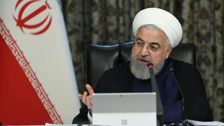 Ruhani: İran'da 25 milyon kişi enfekte oldu