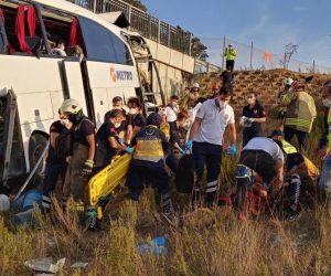 Sarıyer'de otobüs kazası: 5 ölü, 26 yaralı