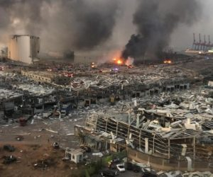 Lübnan'da büyük patlama!