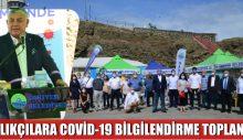 BALIKÇILARA COVİD-19 BİLGİLENDİRME TOPLANTISI