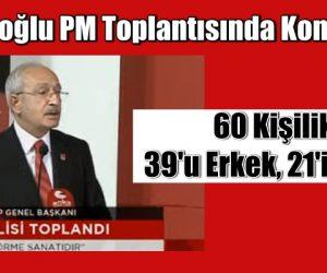 Kemal Kılıçdaroğlu PM toplantısında konuşuyor