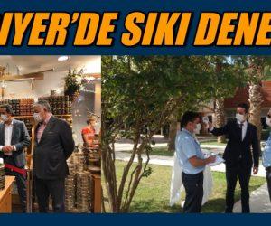 SARIYER'DE SIKI DENETİM