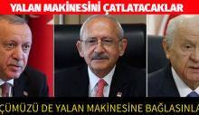 Kılıçdaroğlu: Üçümüzü de yalan makinesine bağlasınlar, vatandaş seyretsin