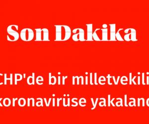CHP'de bir milletvekili daha koronavirüse yakalandı