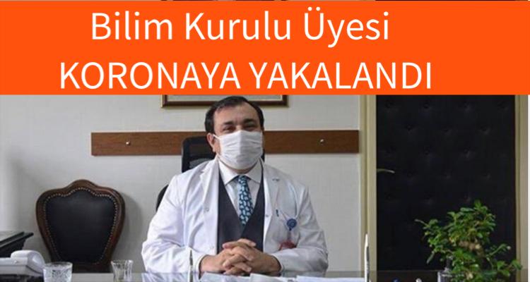 Bilim Kurulu üyesi Prof. Dr. Ahmet Demircan corona virüsüne yakalandı