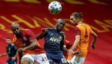 Galatasaray-Fenerbahçe derbisi golsüz bitti