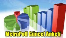 MetroPoll güncel anketini açıkladı