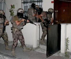 İstanbul'da 7 ilçede uyuşturucu operasyonu