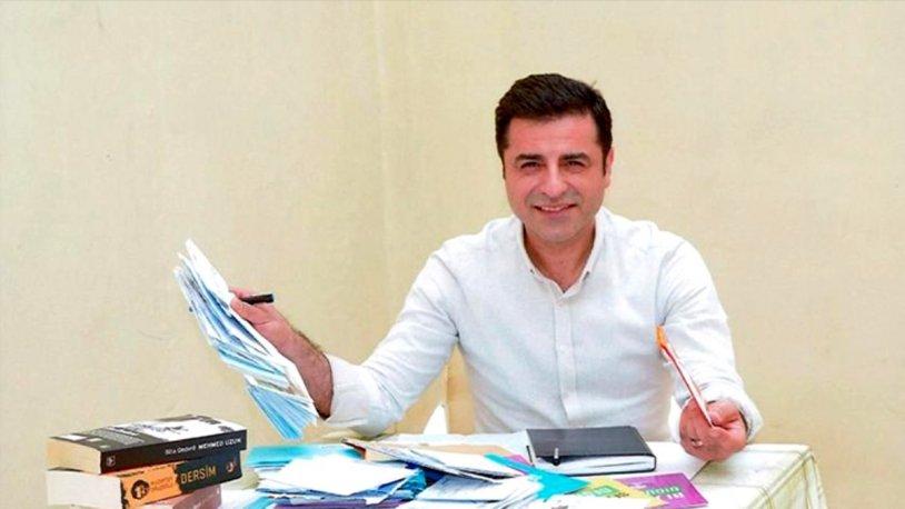 Selahattin Demirtaş: Biz tutuklu değiliz, siyasi rehineyiz